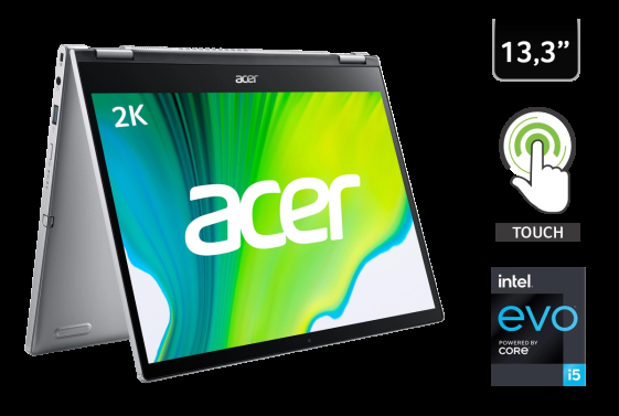 """Notebook Convertible Acer Spin 3 / 8GB RAM / 256GB SSD / i5 / 13.3"""" - 1"""